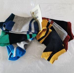 Tucker + Tate Ankle Socks Set Of 6 Size 9-2.5